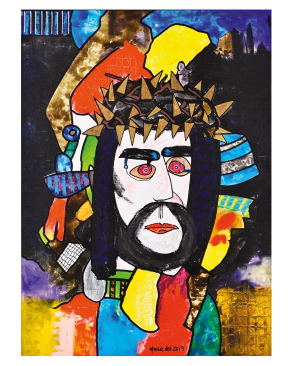 Christus und die Dornenkrone